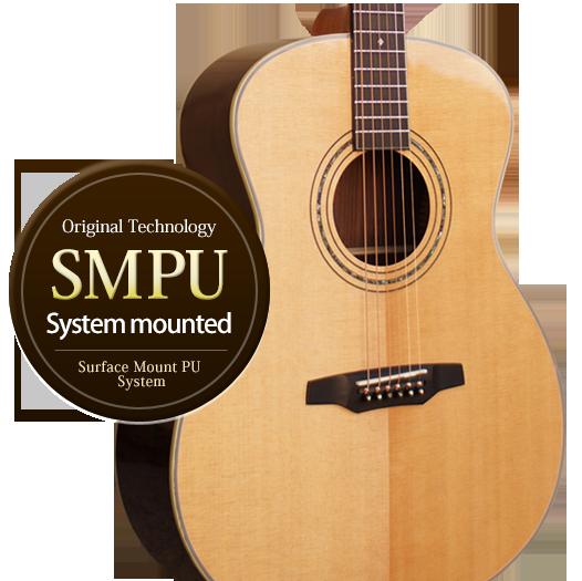 Product Lineup SMPUシステム搭載ギターラインナップ